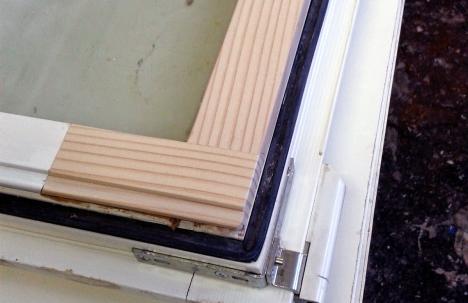 ремонт деревянных окон после